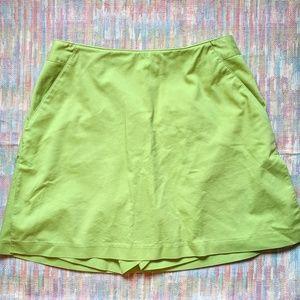 Green Adidas Stretch skort